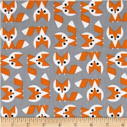 Picture Pie Organic Fox Orange/Grey