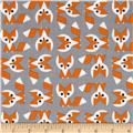 Cloud 9 Picture Pie Organic Fox Orange/Grey