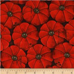 She Who Sews Tomato Pin Cushion Red Fabric