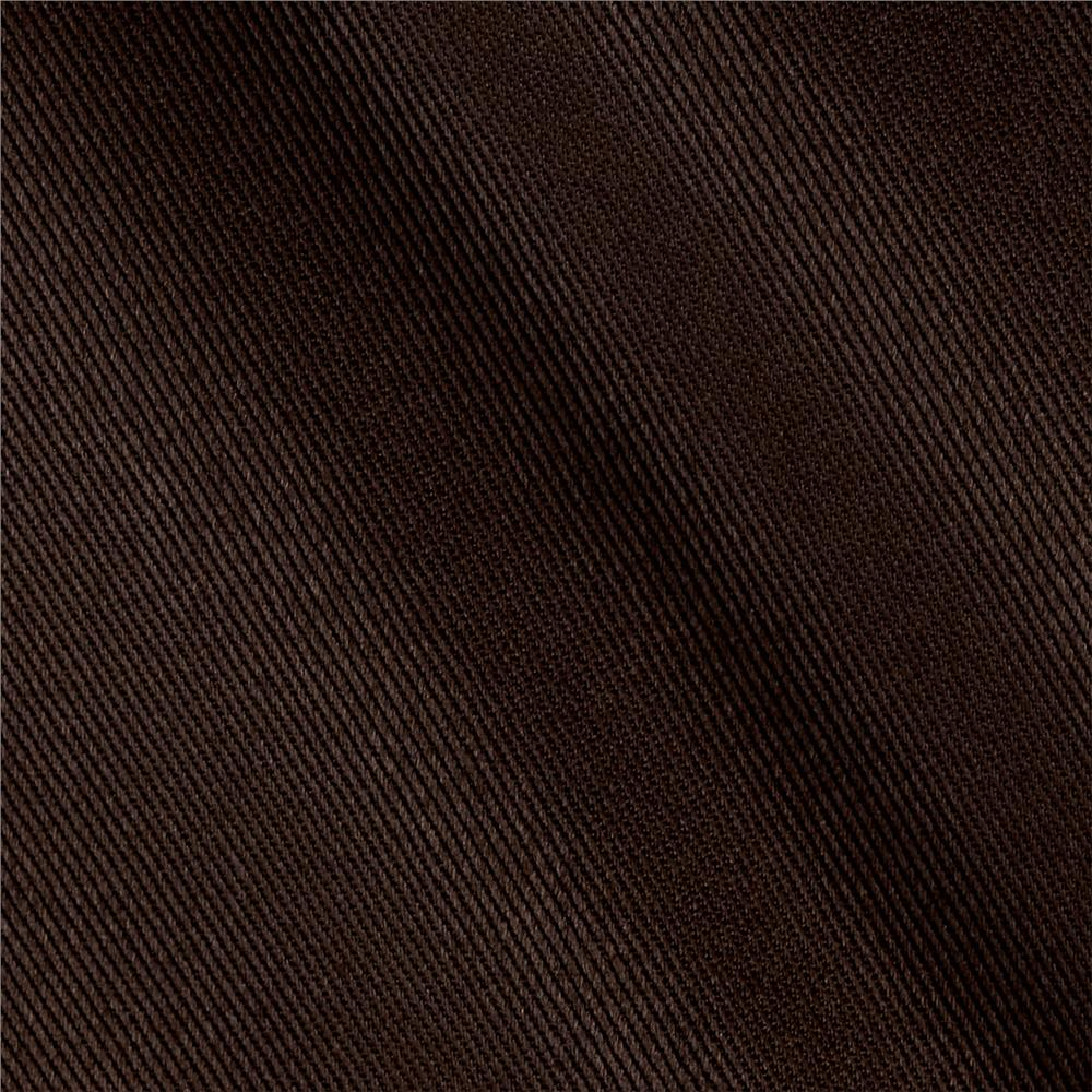 Kaufman Ventana Twill Solid Smokey Brown