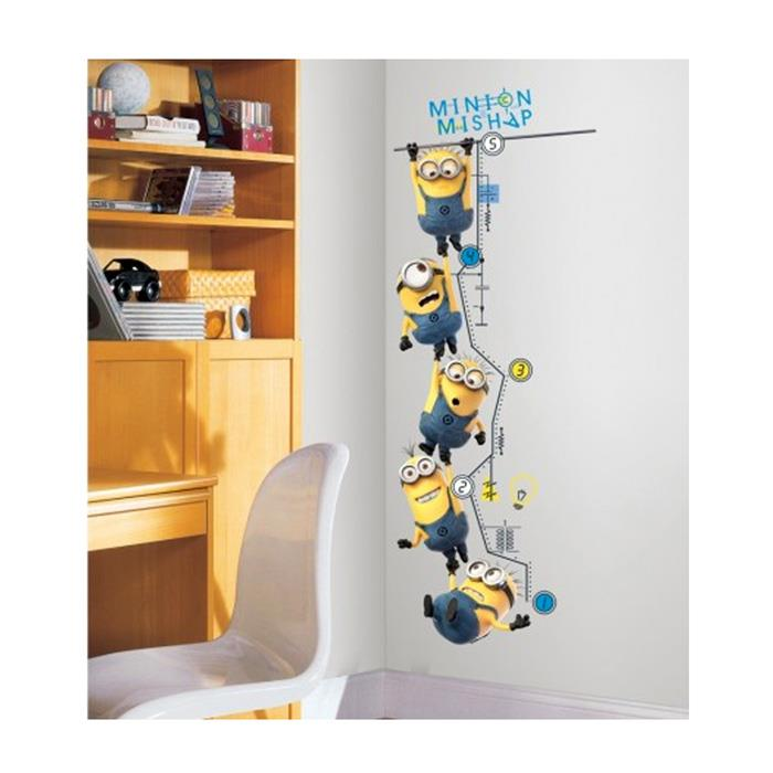 Despicable Me 2 Growth Chart Wall Decal
