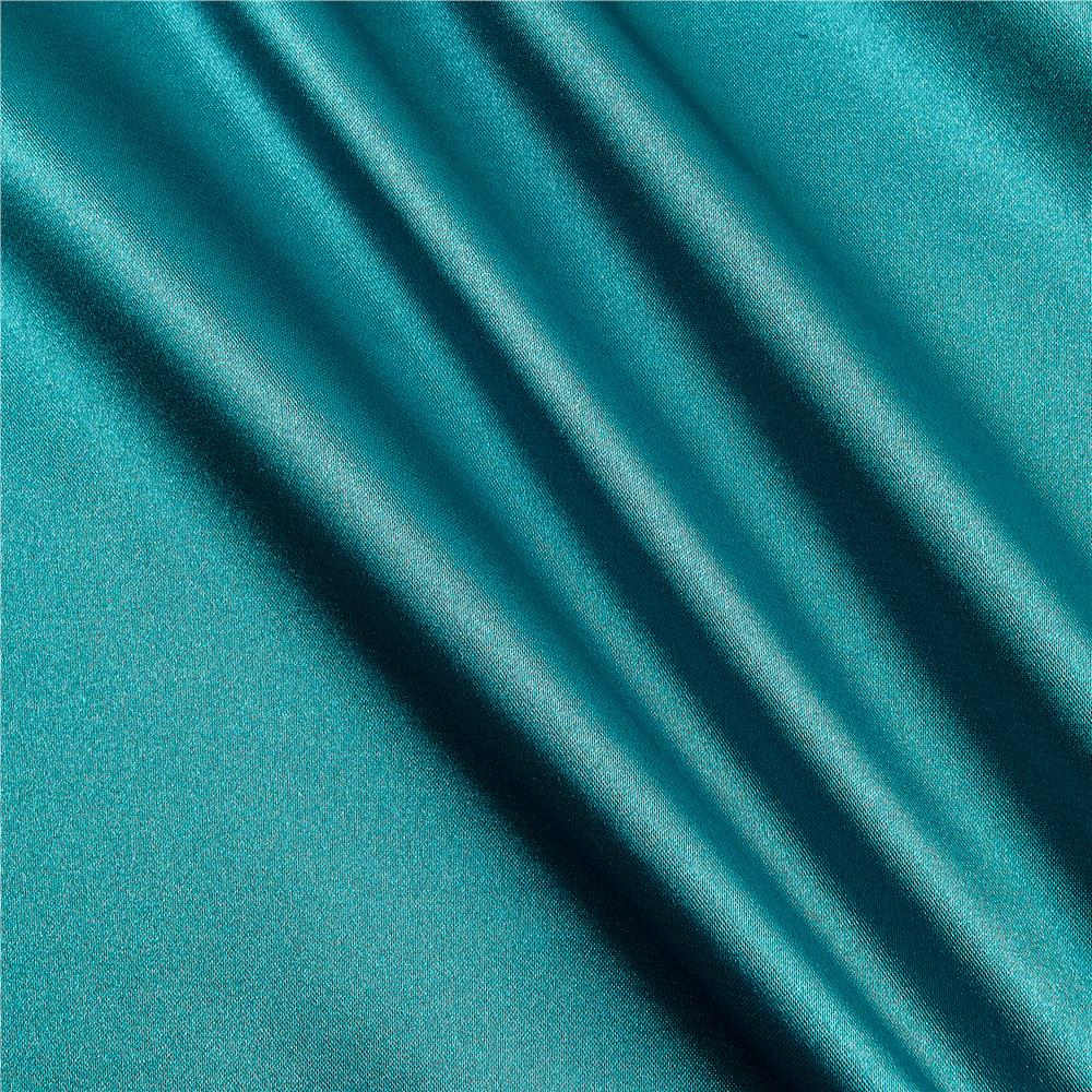 Stretch Charmeuse Satin Pucci Jade Fabric By The Yard