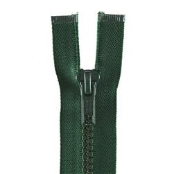 "Coats & Clark Sport Separating Zipper 26"" Forest Green"