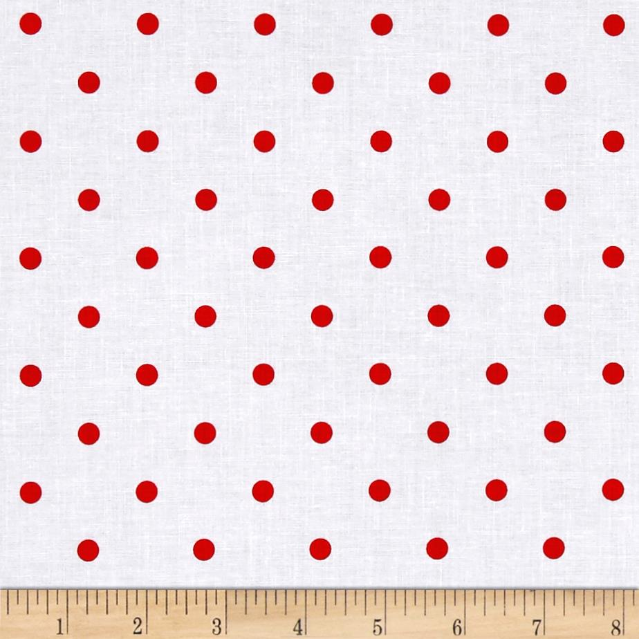 Wee Play Dots White/Red