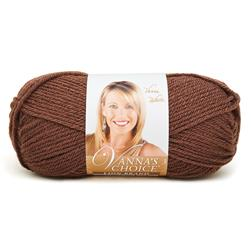 Lion Brand Vanna's Choice Yarn  (126) Chocolate Brown
