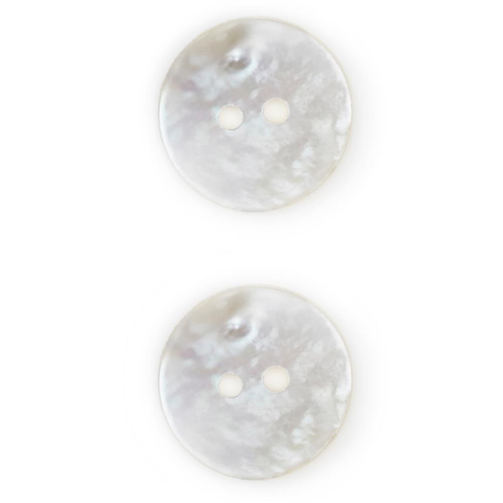 7/8'' Mother of Pearl Buttons White