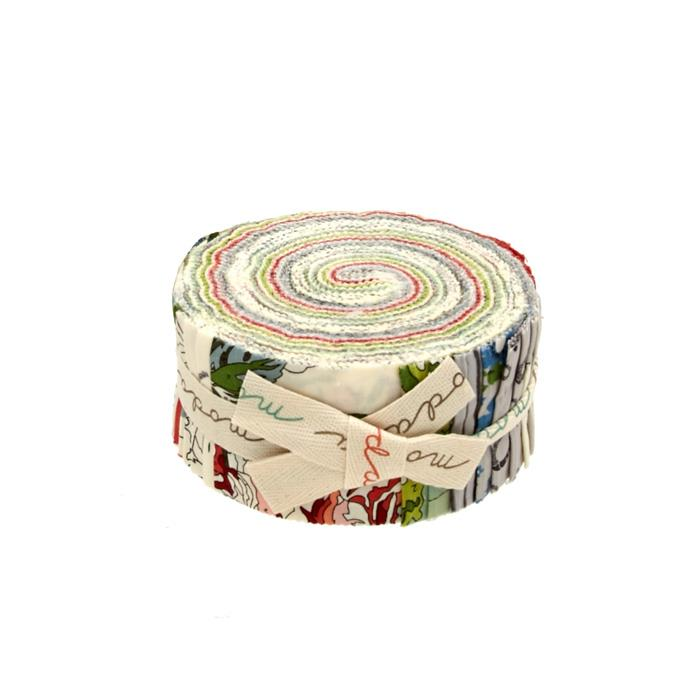 "Moda Purebred Jelly Rolls 2.5"" Strips Multi"