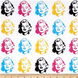 Kaufman Marilyn Monroe Digital Print Faces Bright