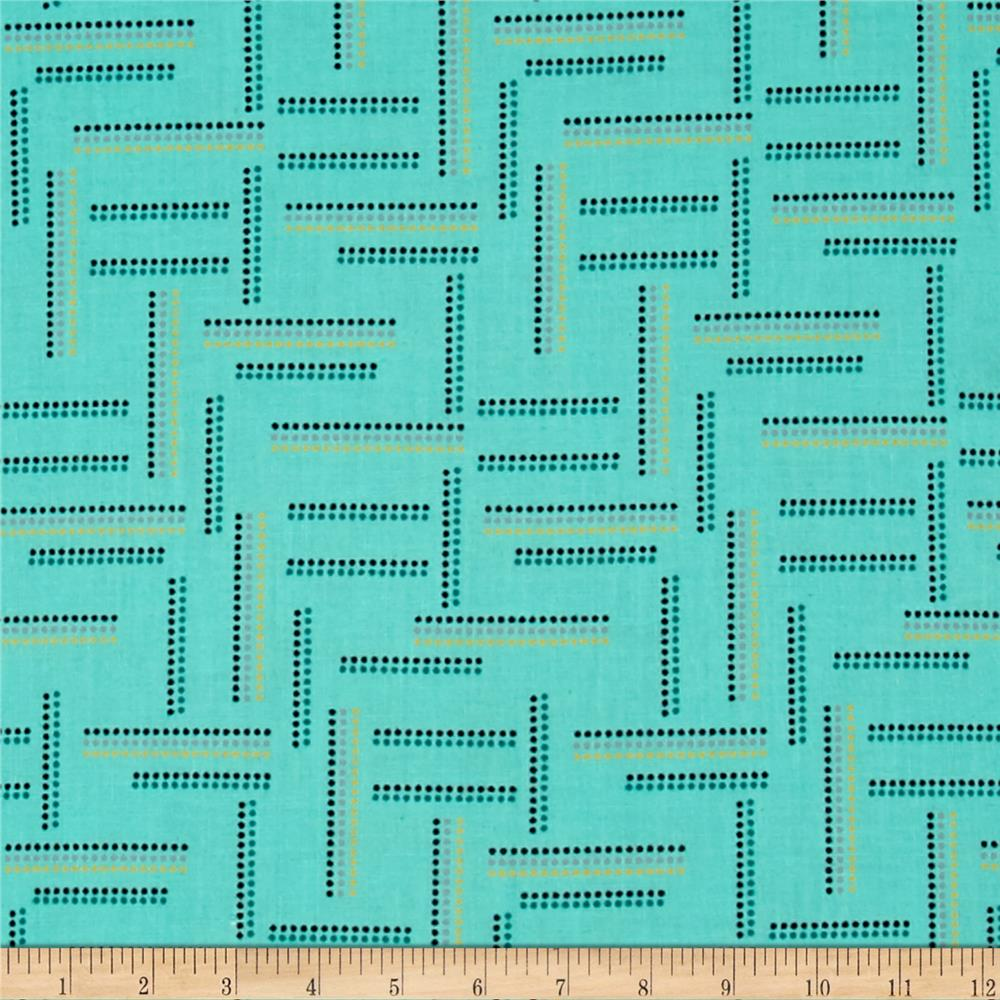 Windham Rumble Dotted Stripe   Mint
