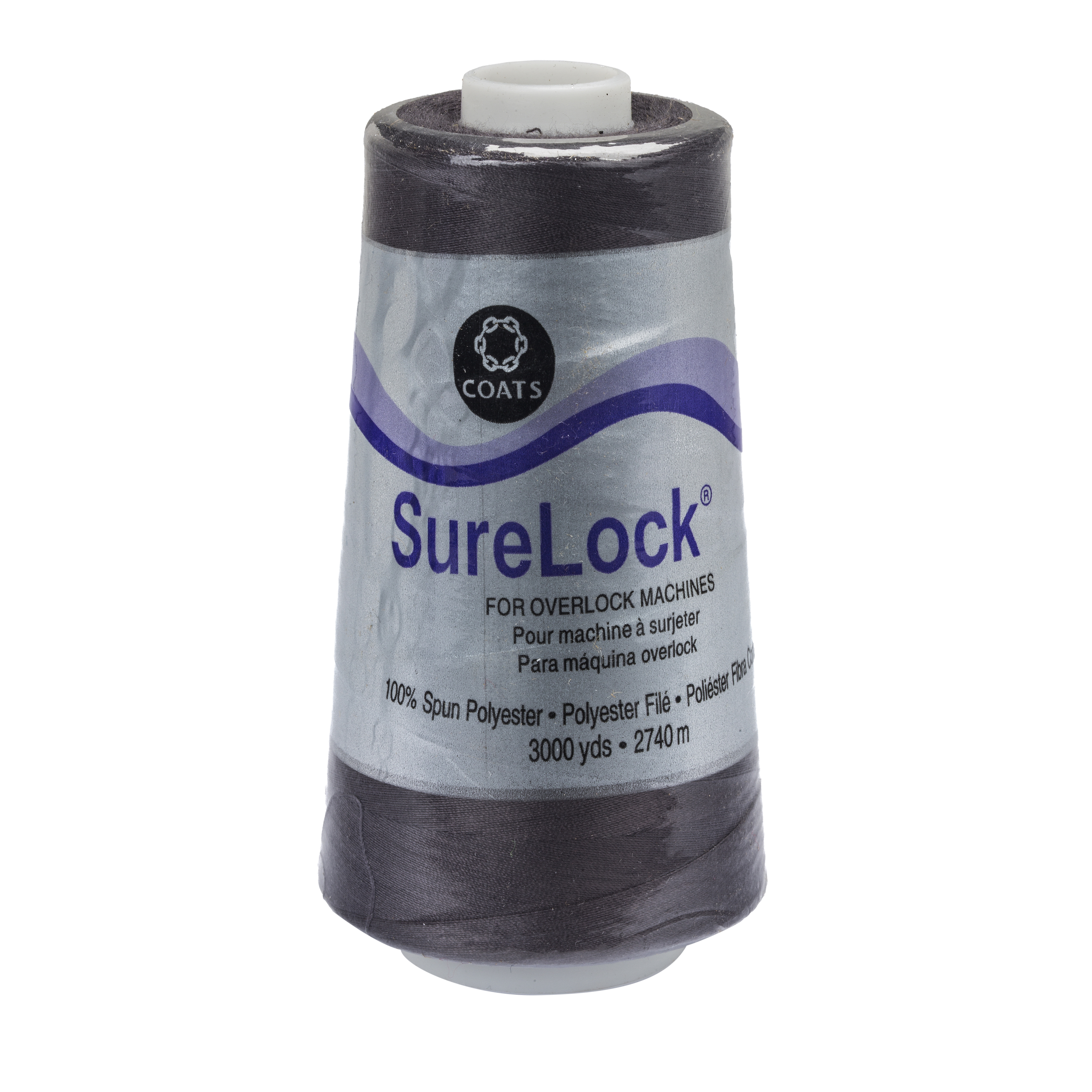 Coats & Clark Surelock Overlock Thread Oxford Grey