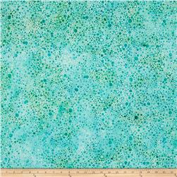 Wilmington Batiks Splash Dots Light Aqua