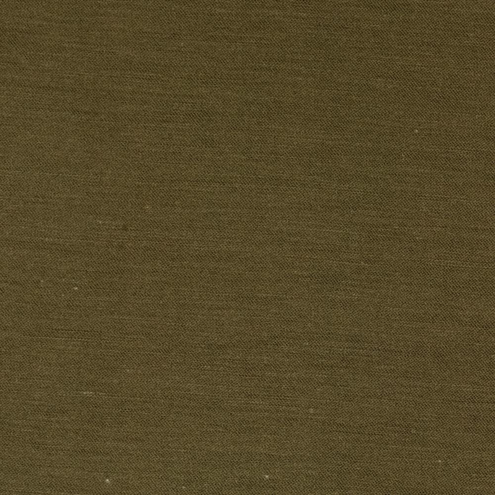 Stretch Cotton Sateen Solid Olive