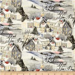 Susan Winget Old World Christmas Wintervale Multi