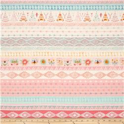 Dream Catchers Novelty Stripe Pink