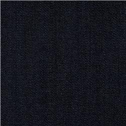 Stretch Denim Dark Wash Marine Blue