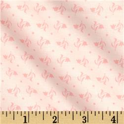 Moda Kindred Spirits Tiny Flowers Pink