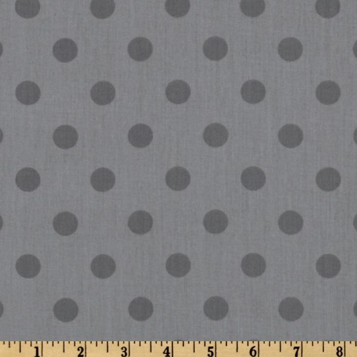 Moda 108'' Dottie Quilt Backing Tonal Steel