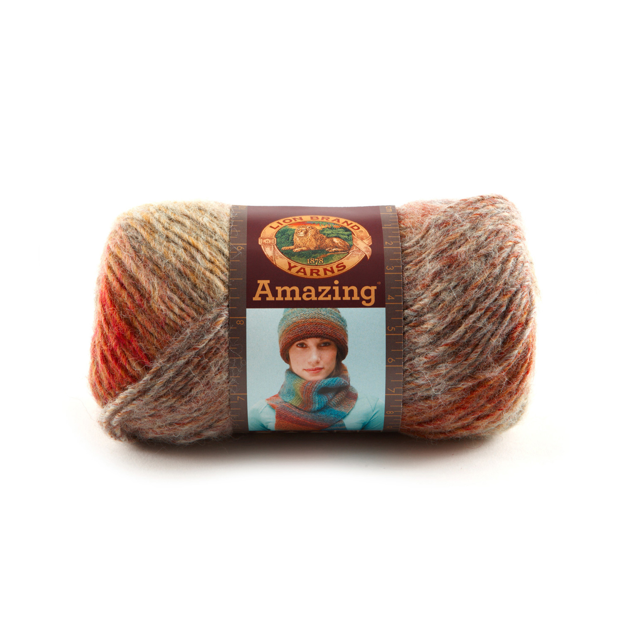 Lion Brand Amazing Yarn (203) Wildflowers - Discount Designer Fabric ...