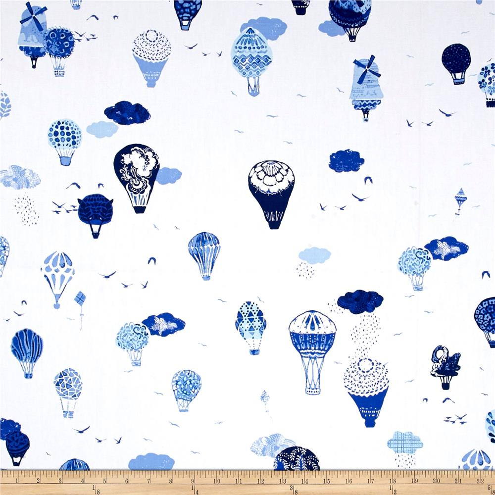 Art Gallery InBlue Canvas Fly Away Vroeg Fabric