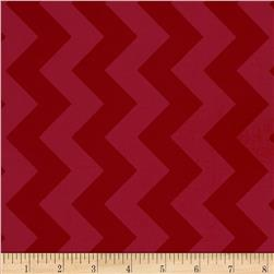 Riley Blake Laminate Medium Chevron Tone on Tone