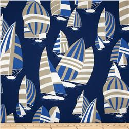 Nautica Indoor/Outdoor Sails Ahoy Sand Dune Fabric