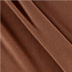 Rayon Spandex Jersey Knit Solid Light Brown