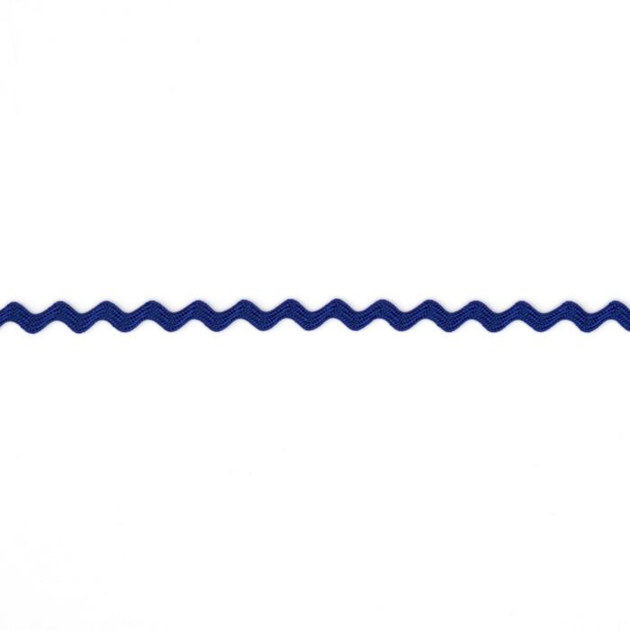 "1/8"" Ric Rac Rayon Mini Trim Royal Blue"