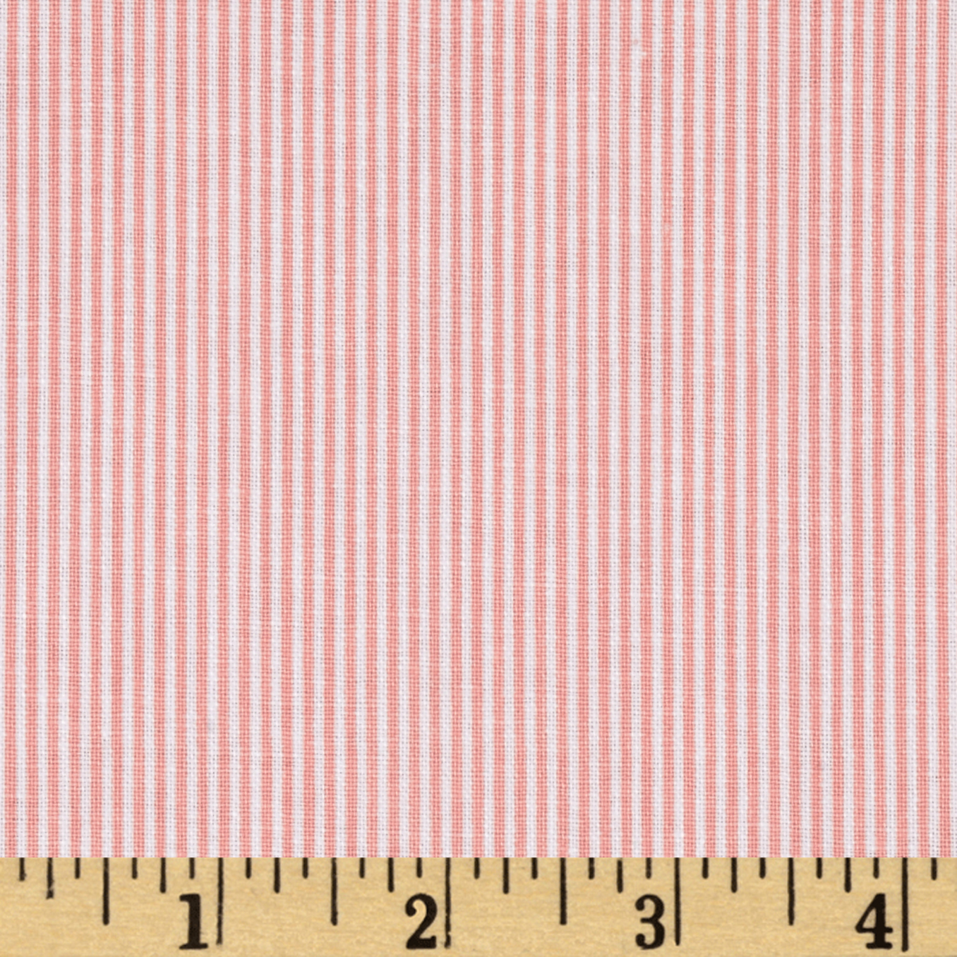 Dear Stella Sunburst Stripe Orange Fabric