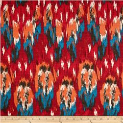 Premier Prints Ikat Craze Birch Poppy