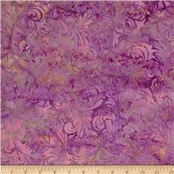 Bali Batiks Handpaints Foulard Rose