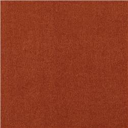 Faux Suede Tricot Burnt Orange