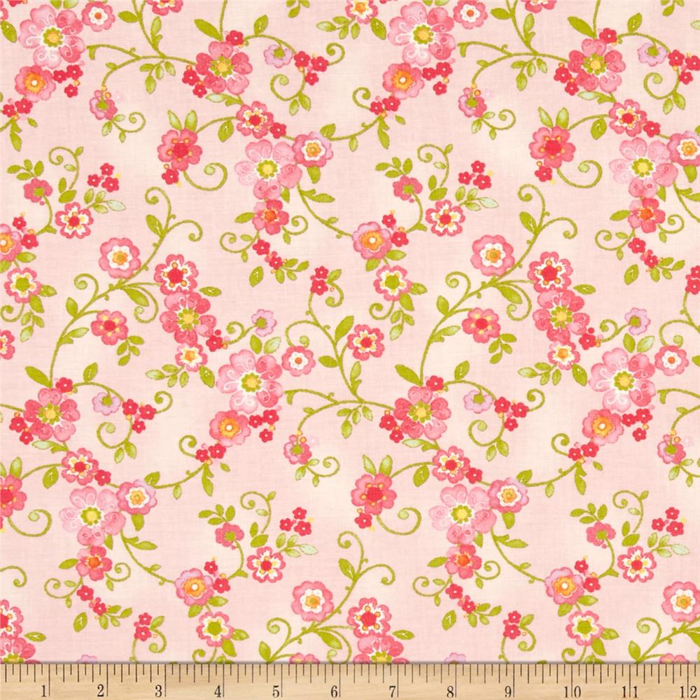 Moda Collette Floral Flourish Rose