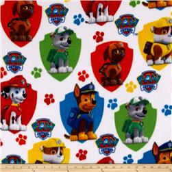 Paw Patrol Fleece Rescue White