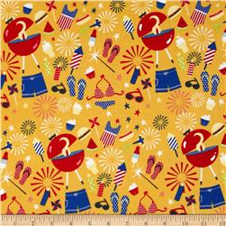 Riley Blake Summer Celebration Summer Main Yellow