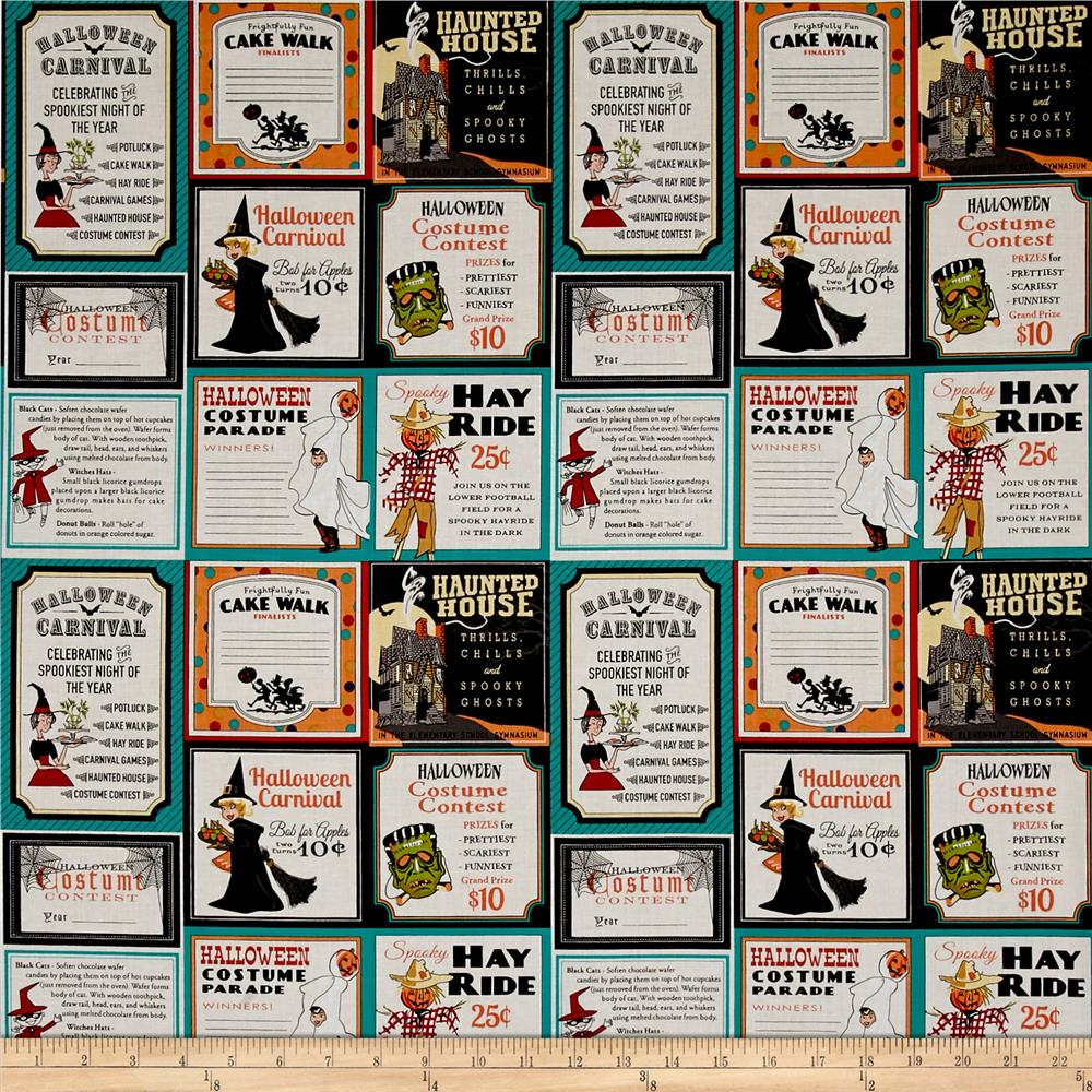 Penny Rose Trick or Treat Main Teal