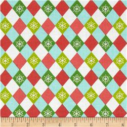 Christmas Argyle Multi