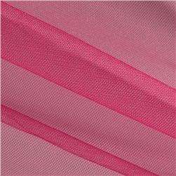 Shiny Tulle Fuchsia Fabric