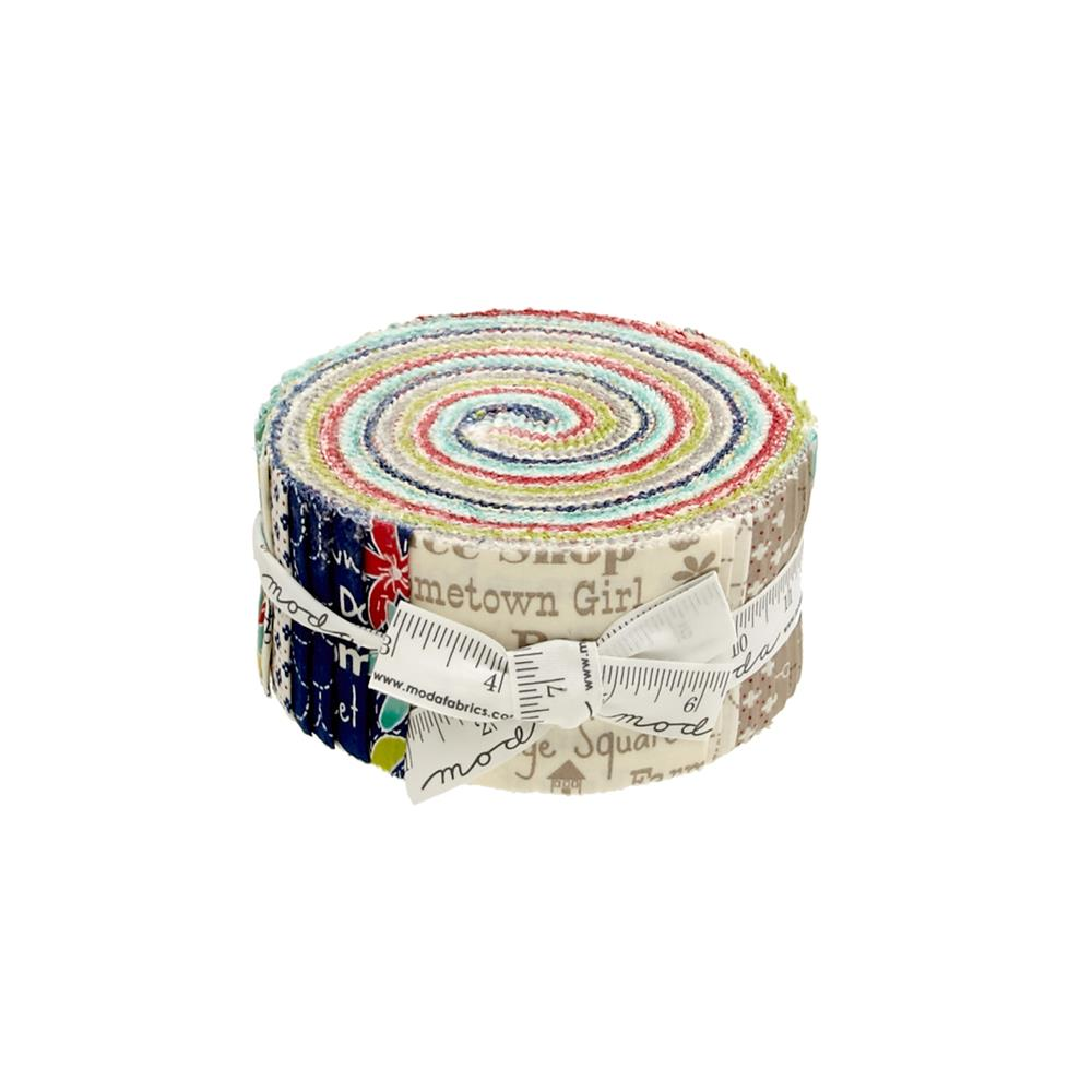 "Moda Hometown Girl 2.5""  Jelly Roll"