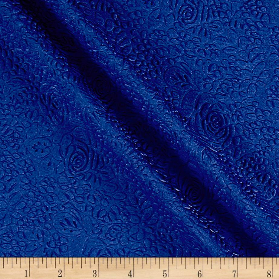 Techno Double Knit Jacquard Royal Blue