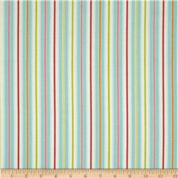 Rainbow Garden Stripe Blue