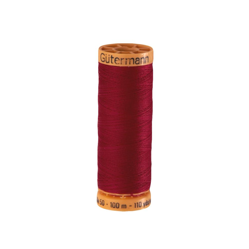 Gutermann Natural Cotton Thread 100m/109yds Cranberry