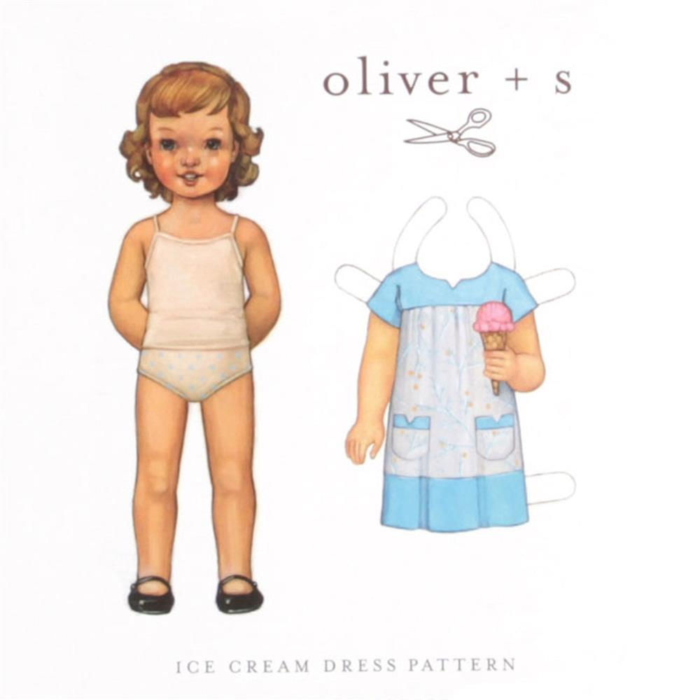 Oliver + S Ice Cream Dress Pattern Sizes 5 -12