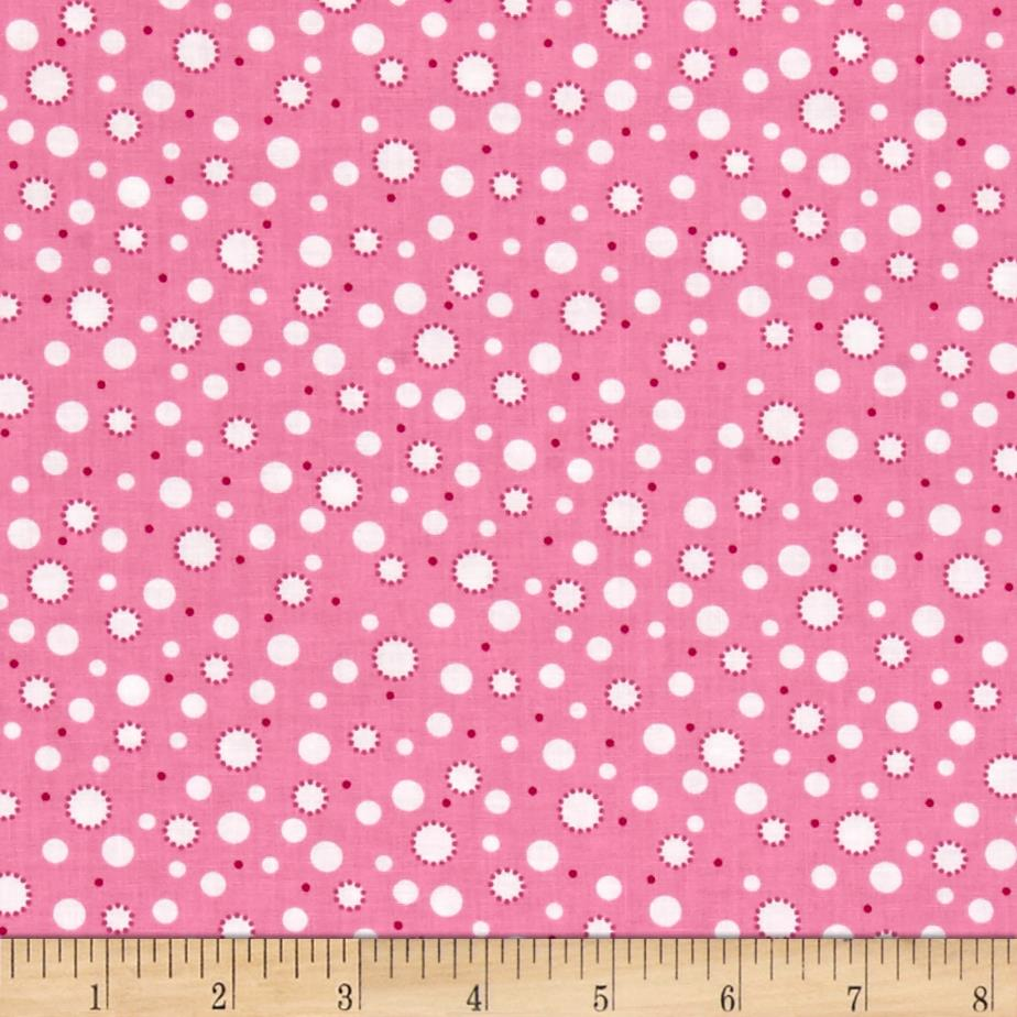 A Miracle Baby Dots Pink