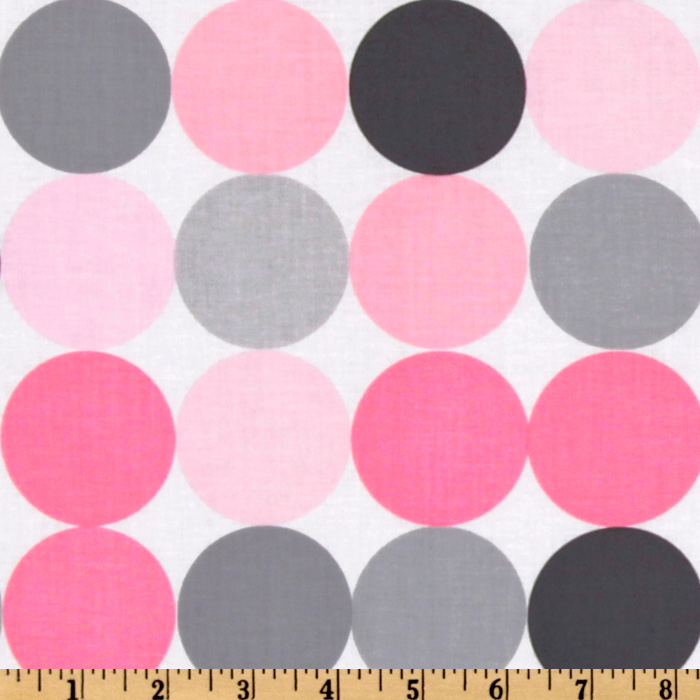 Michael Miller Disco Dot Blossom Fabric
