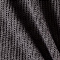 Thermal Knit Solid Gray