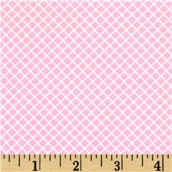 Robert Kaufman Remix Lattice Pink