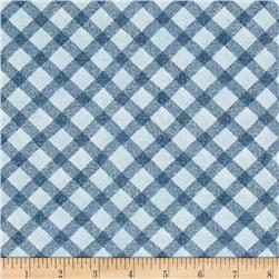 Noah's Story Plaid Blue
