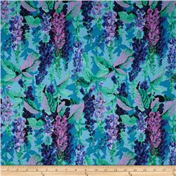Kaffe Fassett Collective Fox Gloves Cool