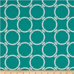 Premier Prints Indoor/Outdoor Linked Ocean Fabric