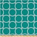 Premier Prints Indoor/Outdoor Linked Ocean